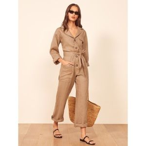 NWT Reformation Cade Jumpsuit